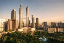 Kuala Lumpur / Heaven for foodies and shopping til dropping