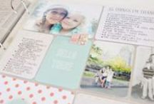 Scrapbooking - photo's telling a story