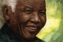 Tribute To Nelson Mandela / Tribute to Nelson Rolihlahla Mandela 18 July 1918 – 5 December 2013 - photo's, art and quotes, inspiration -