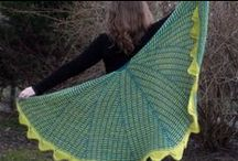Morning Mist Shawl  / knitting shawl, chusta na drutach