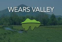 Wears Valley / Wears Valley TN is known as one of the quieter sides of the Smoky Mountains. Unlike Pigeon Forge and Gatlinburg, this is where families and guests come when they are looking for a peaceful and relaxing place to stay.
