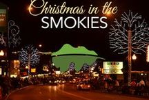 Christmas in the Smokies / One of the best times to go travel to the Great Smoky Mountains. The streets are lit up with millions of gorgeous lights at every turn!