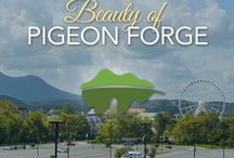 Beauty of Pigeon Forge / Take a look at the beauty that is Pigeon Forge. There is so much to do here and it is just a short distance from Gatlinburg and the Great Smoky Mountains National Park.