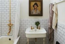 Home: Bathe Here / A board for beautiful bathrooms / by Becca Berger   from Gardners 2 Bergers