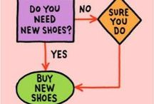 SHOES / Women's Love Affair with Shoes