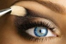 EYE MAKE-UP / Eyeliner, Eye Shadow, Mascara, Lashes and Eyebrows! / by Omni Productions Inc