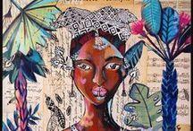 My travel-books & painting / My artistic work : painting and sketch travels over the world.  Mon univers artistique : peintures et carnets de voyages à travers les cultures du monde.