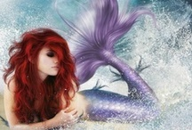 Mermaid / what we know about those alluring water vixens   / by ** FuNkyTX'n**
