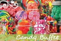 CANDY - Candy Bar Ideas /  CANDY - CREATING A CANDY BUFFET FOR EVENTS