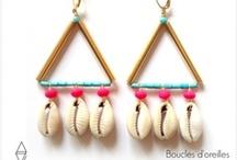 bijoux colorés -créatrices