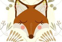 Renard- foxes
