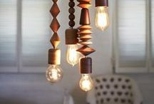DIY Lighting / by Becca Berger   from Gardners 2 Bergers