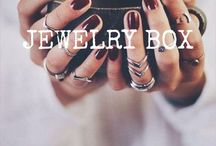 Jewelry Box / All the pretty things! Rings. Necklaces. Earrings.