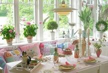 Pretty Kitchens/Breakfast rooms