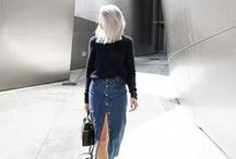 Fashion & Style / My favourite women's fashion trends of the moment.