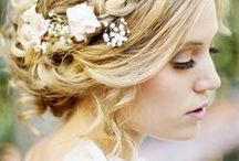 Hair & Makeup / Hair & Makeup Board Inspired By- Different Bridal Personalities, Sleek, Elegant, Up-does, Romantic Curls, Braids, Loose Styles, Colorful Makeup, Neutral Makeup, Natural,  Soft, Colorful Statements, Flower Crowns, Special Touches Meant To Enhance the Bride's Natural Features