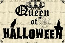 *Queen of HALLOWEEN* / by Shanna ❤️💁🎃👑