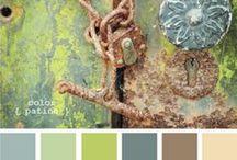 Fabrics, Wallpaper & Colors / Style Design Board, Color Pantone