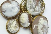 Cameos / Lovely cameos mainly shell and mainly antique but some others if they are beautiful
