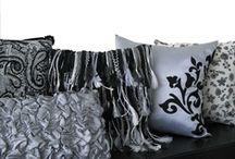 Calissa : pillows, runners, etc  / My work
