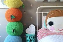 Toddler Bedroom Decor / Ideas for decorating a childs bedroom