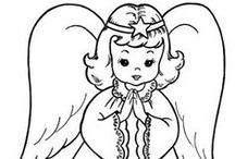 Free Coloring Pages for Kids / Here's hours of entertainment for your children to enjoy.  Endless possibilities...    / by D K