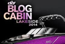 """Blog Cabin ROCKS 2014 / """"FAN of Blog Cabin""""  Sweepstakes and posts from the DIY channel! / by D K"""