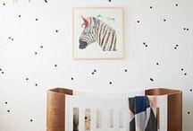 Modern Nursery Ideas / Modern and minimalist nursery decor ideas