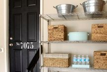 Organization. / Eliminating clutter one label at a time.