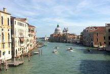 Venice / The beautiful ancient Italian city of Venice. Its canals and architectural deail