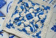 Granny Squares / Heel patroontjes van Granny Squares, iedere dag voeg ik andere toe. Gewoon gratis. Free patterns Granny Squares