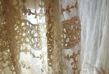 linen. lace. / by christy.
