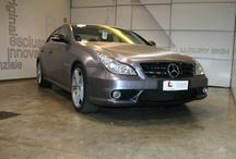 Mercedes CLS AMG Acciao Spazzolato / Car Wrapping Mercedes CLS AMG Acciao Spazzolato