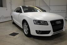 Audio A5 Bianco Opaco / Car Wrapping Bmw X6 Nero Super Opaco