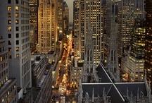 Bright Lights, Big Cities / by *★ Sandra 'Sandi' Rosenberger ★*