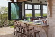 outdoor kitchens / by Doug Davis