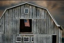 BARNS / SOMETHING ABOUT A BARN.. / by Rebecca Munroe