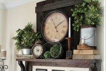 Mantle and Table Design / by Kate Anthony