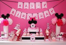 My Grand Kids Birthday Party Ideas / by Michelle Hay