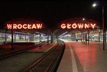 Wrocławskie neony / neon lights around Wroclaw