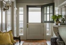dutch doors / by Doug Davis