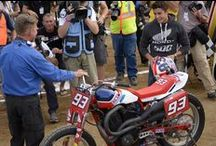2014 Indy Mile / With an international crowd in attendance, the stars of AMA Pro Flat Track put on a race to remember at the Indiana State Fairgrounds / by AMA Pro Flat Track