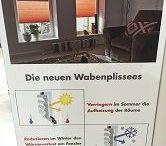 Sicht- & Sonnenschutz in Innenräumen / #Blendschutz #Rollo #Faltstore #Flächenvorhang #Doppelrollo #Folienrollo #Lamellenvorhang #Plissee #Duette #Wabenplissee für #Wiesbaden #Hochheim #Hofheim #Eppstein #Niedernhausen #Eltville #Oestrich