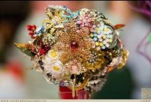 jeweled bouquets / by Les Levine