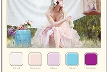 Wedding Color inspiration / Inspiration for your wedding color theme