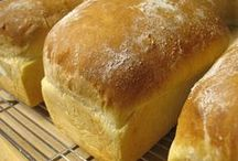 *Baking Bread/Making Butter / Love it when the house is filled with the smell of homemade bread. / by amy countrygirl