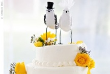 Wedding Cake Toppers / Awesome cake toppers for your wedding day / by Pretty Pear Bride® | Plus Size Bridal Magazine