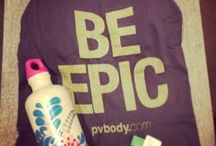 pv.Body Unboxing / Get a complete workout attire featuring name brands every month for $49.95. Get 20% off pv.Body when you sign up at http://bit.ly/pvBody20 / by Stephanie Liu