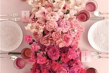 Color Inspiration ~ Ombre / Explore using a color family at your wedding