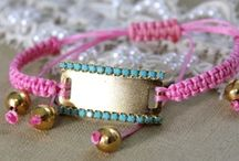 Color Inspiration ~ Pink, Turquoise and Gold / Pink , Turquoise and Gold wedding color scheme inspiration